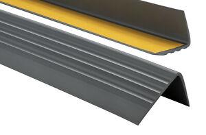 PVC-Treppenkantenprofil-Selbstklebend-50x40mm-Kantenschutz-70-200cm-Treppenkante