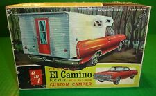 JUNKYARD AMT 1965 EL CAMINO W/CAMPER TOP 1/25 Model Car Mountain KIT