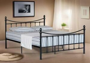 4FT-SMALL-4FT6-DOUBLE-5FT-KING-SIZE-METAL-BED-FRAME-BEDSTEAD-amp-MATTRESS