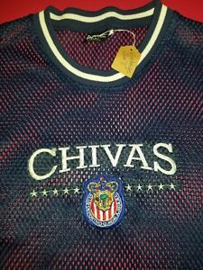 d5c047d61e0 Image is loading Vintage-Chivas-de-Guadalajara-soccer-Jersey-large-for-