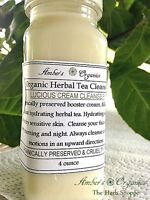 Organically Preserved Herbal Tea Cleanser Rosewater - With Dmae & Green Tea