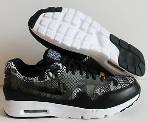 official photos 8aaf1 35087 Image is loading NIKE-AIR-MAX-1-ULTRA-BHM-QS-BLACK-