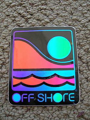 VTG OFF SHORE OFFSHORE SURF SURFING SURFBOARD SURFBOARDING BEACH STICKER DECAL !