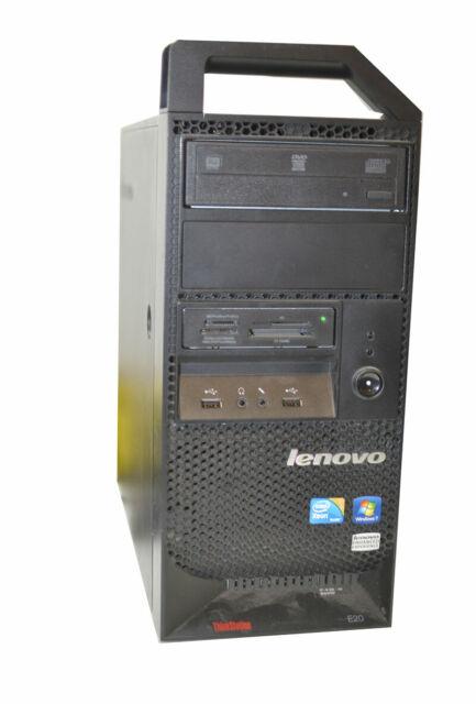 Lenovo ThinkStation E20 Desktop Xeon Quad 2.40GHZ 4GB ECC 250GB HD Quadro FX380