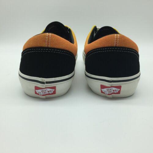 """Fade Details about  /Vans Men/'s Shoes /""""Era Pro/"""" Black//Orange"""