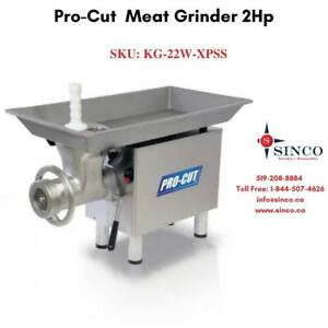 Buy Affordable & Reliable PRO-CUT Meat Grinder 2HP Canada Preview