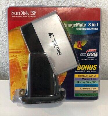 SanDisk SDDR-88-A15 8-in-1 USB 2.0 Hi-speed Reader