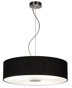 Hangeleuchte O 40 Cm Wohnzimmer Hangelampe Pendelleuchte Deckenlampe Modern Ebay