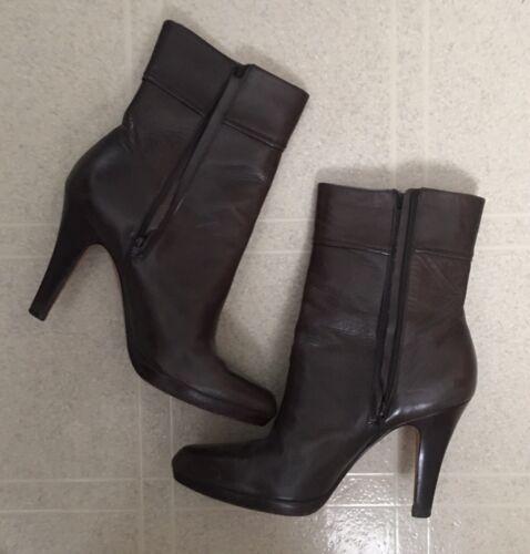 Cole Haan Boots Ladies 9.5 Dark Brown