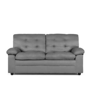 Image Is Loading Mainstays Buchannan Apartment Sofa Grey W