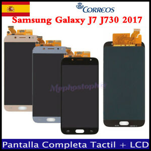 Pantalla-Completa-Para-Samsung-Galaxy-J7-2017-J730FN-Tactil-LCD-Oro-Azul-Negra
