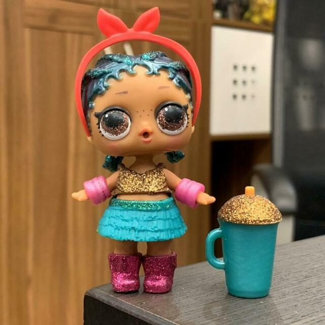 rare LOL Surprise Doll Glam Glitter Curious QT Storybook Club toy collection