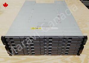 NetApp-DS4243-Disk-Array-w-24xSATA-Trays-2x-IOM3-2x-580W-PSU-4U-Expansion-Shelf