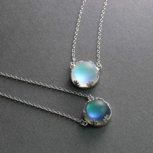 Aurora Borealis Collier magickjewelry nouveau pendentif mode élégante Grils Jewelry