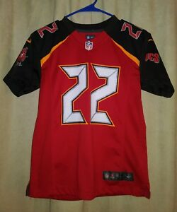 sale retailer 892a5 68109 Details about Tampa Bay Buccaneers Youth Size M Medium Nike On Field Jersey  Doug Martin #22