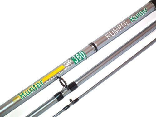 3,30 Karpfenrute Angelrute Karpfen Carp Rute 12ft 3,5lbs Carbon HUNTER 110250