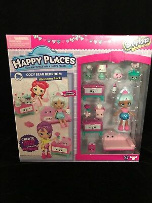 Happy Places Shopkins Season 3 Welcome Pack Cosy Bear Bedroom