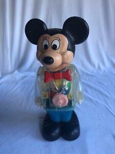 1980 Vintage Mickey Minnie Mouse Donald Duck Disney Finger Puppet Gabriel HK NEW