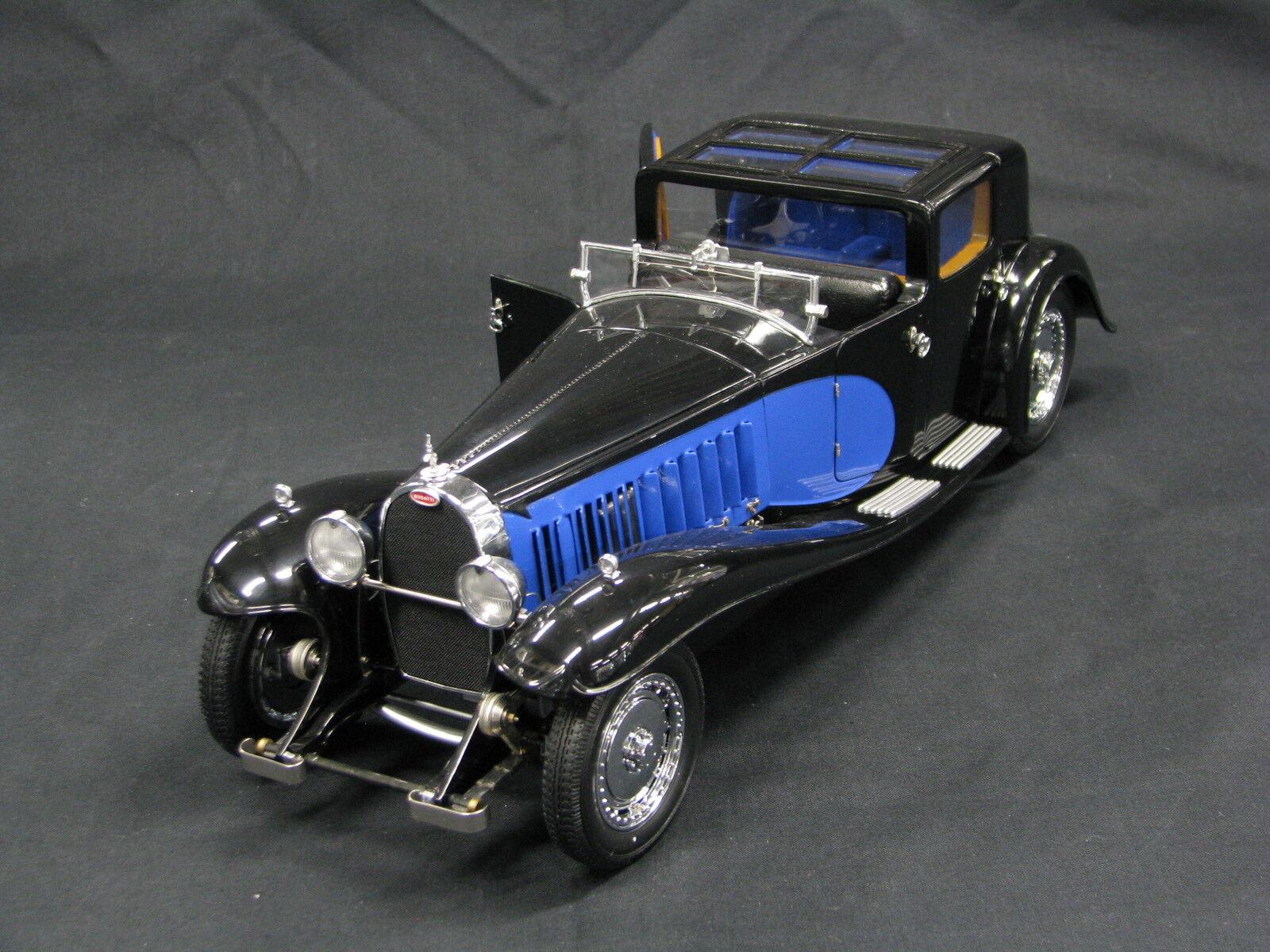 Bauer Bugatti Royale Coupe de Ville 1931 1 18 nero   blu
