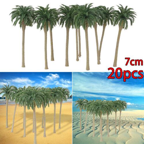 Mini Model Trees Miniature Decoration Coconut Palm DIY 1:150 7CM Useful