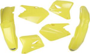 UFO-Plastics-Complete-Body-Kit-Factory-Suzuki-RM250-01-02-RM125-OEM-SUKIT401-999