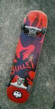 Bullet Skateboard Deck complete trucks wheels deck Rare vintage