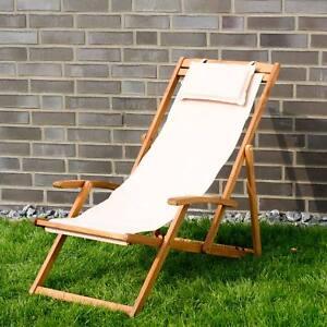 Chaise Longue Relax Jardin Transat