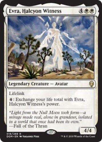 Evra, Halcyon Witness (016/269) - Dominaria - Rare