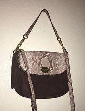 dcf9a59b9f60 item 3 Michael Kors Bedford crossbody Leather Convertible Shoulder bag  Cocoa Coffee NEW -Michael Kors Bedford crossbody Leather Convertible  Shoulder bag ...