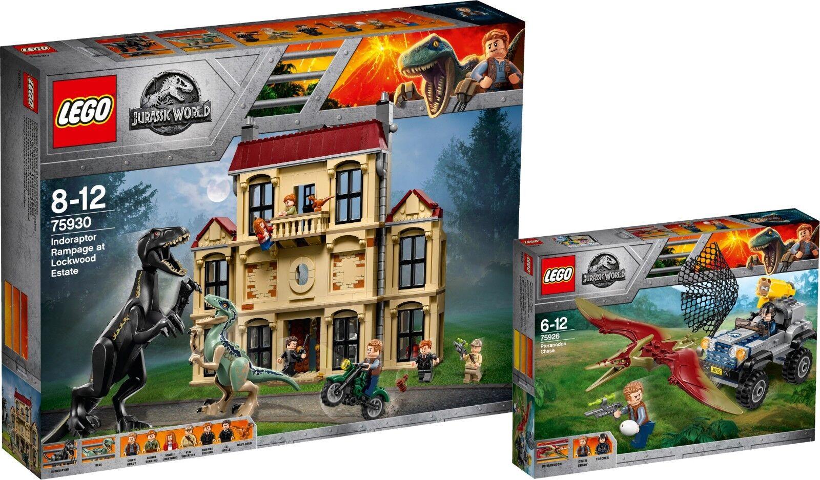 LEGO Jurassic World 75930 75926 indoraptor-devastazione Pteranodon-caccia n6 18