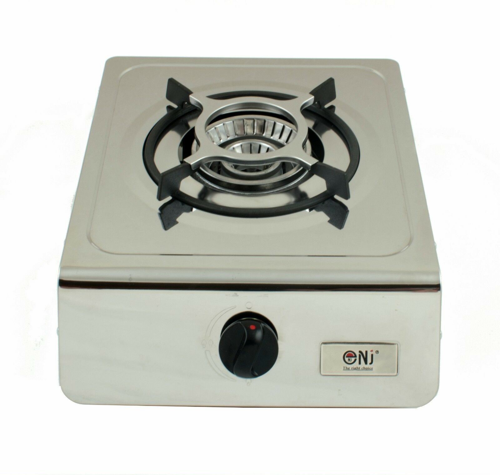 NJ-100 Portable Gas Stove 1 Burner Cooker Stainless Steel Camping 4.0kW