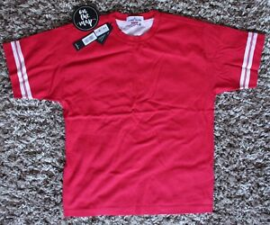 Stone Island x Supreme Cotton T-Shirt Tee Red White Size M Medium ... 046f01f10