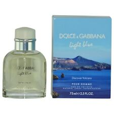 D & G Light Blue Discover Vulcano Pour Homme by Dolce & Gabbana EDT Spray 2.5 oz