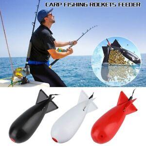 18*5.5*5.5CM Carp Fishing Bait Spod Bomb Rocket Dispenser Floats Fishing Feeder