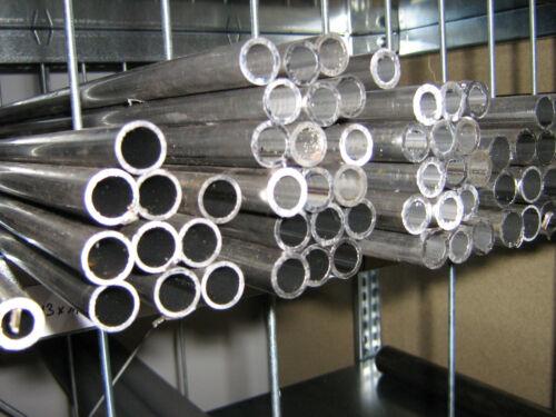 Aluminium Rundrohr  6-20 mm Länge 330 mm  bitte auswählen
