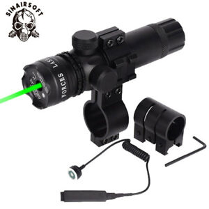 Tactical-Red-Green-Dot-Laser-Sight-Rail-Barrel-Mount-Remote-Switch-for-Rifle-Gun