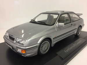 Ford Sierra RS Cosworth 1986 LHD Grey Metallic 1 18 Scale Norev 182770