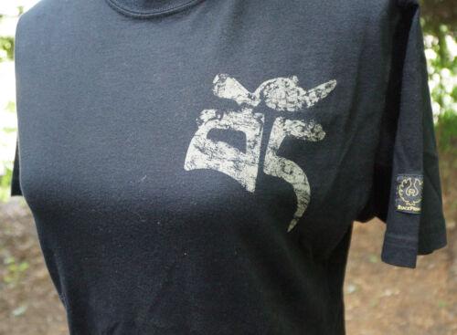 Prince Tibet Rundhalsausschnitt Neuer Belstaff Shirt Größe Kurzärmliges 44 EU Free By Black T 6SqxdOO