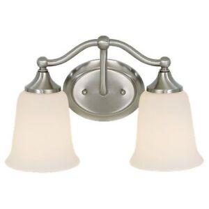 2 Pack! - Murray Feiss VS10502-CH Claridge Bathroom Light In Chrome
