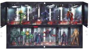 HASBRO MARVEL LEGENDS THE RAFT BOX SET SPIDER-MAN SDCC 2016 LOOSE 6 FIGURES