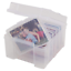 Advantus-Photo-Keeper-Box-with-6-Individual-Clear-Cases-Holds-up-to-600-Photos miniature 2