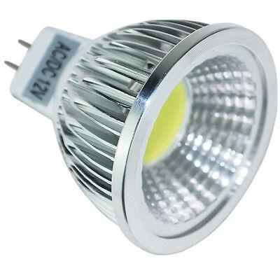 MR16 GU10 E27 6/9/12W Dimmable LED COB Spotlight Lamp Warm Cool White High Power