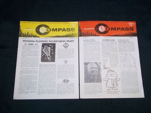 1962 August October Issues The Scouters Compass Milwaukee County Council Flyers
