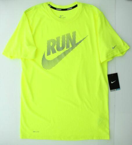 Nike Mens Dri Fit Legend Reflective Running Athletic Shirt 586691