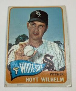 1965 Topps # 276 Hoyt Wilhelm Baseball Card Chicago White Sox HOF