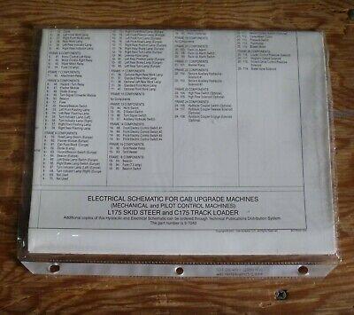 [SCHEMATICS_48DE]  New Holland L175 Cab Upgrade Skid Steer Loader Electrical Wiring Diagram  Manual | eBay | L175 Wiring Diagram |  | eBay