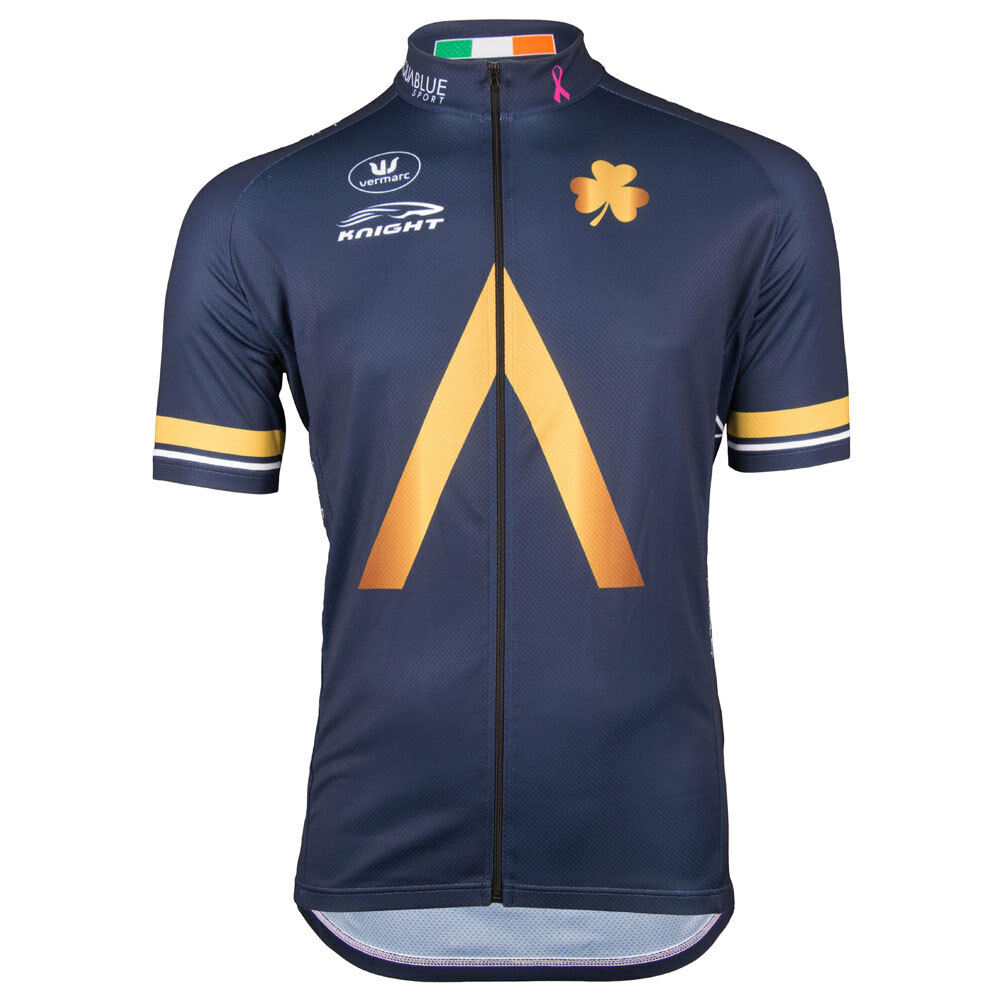 Vermarc Aqua bluee Short Sleeve LZ Cycling Jersey 2017 S-XXL RRP .99