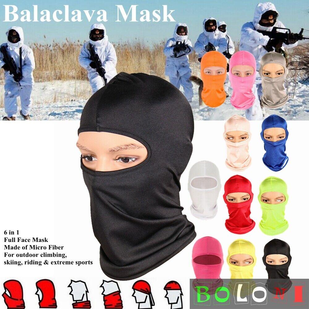 New Winter Outdoor Sports Full Face Mask Cover Balaclava Winter Skiing Climbing