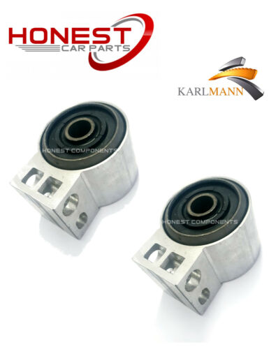 For VAUXHALL VECTRA C II SIGNUM FRONT WISHBONE ARM REAR BUSHS L//R X2 Karlmann