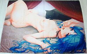 Miku Hatsune (Vocaloid) Anime Manga Spannbettlaken Spannbetttüche<wbr/>r 150x210cm Neu